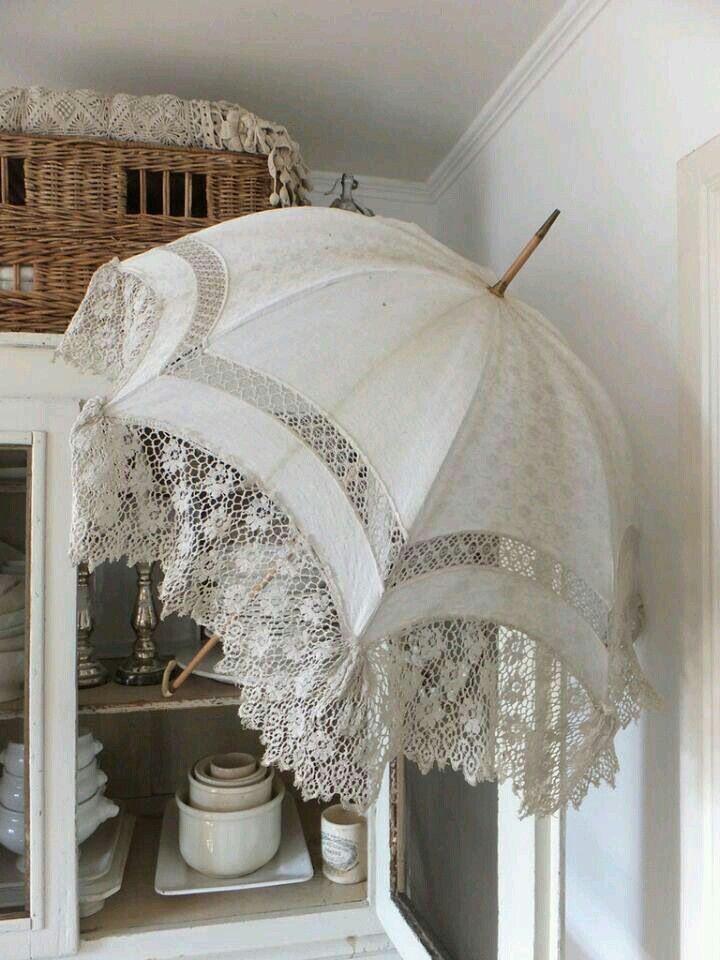 Vintage Parasols Lace Umbrella Lace Parasol Vintage Umbrella