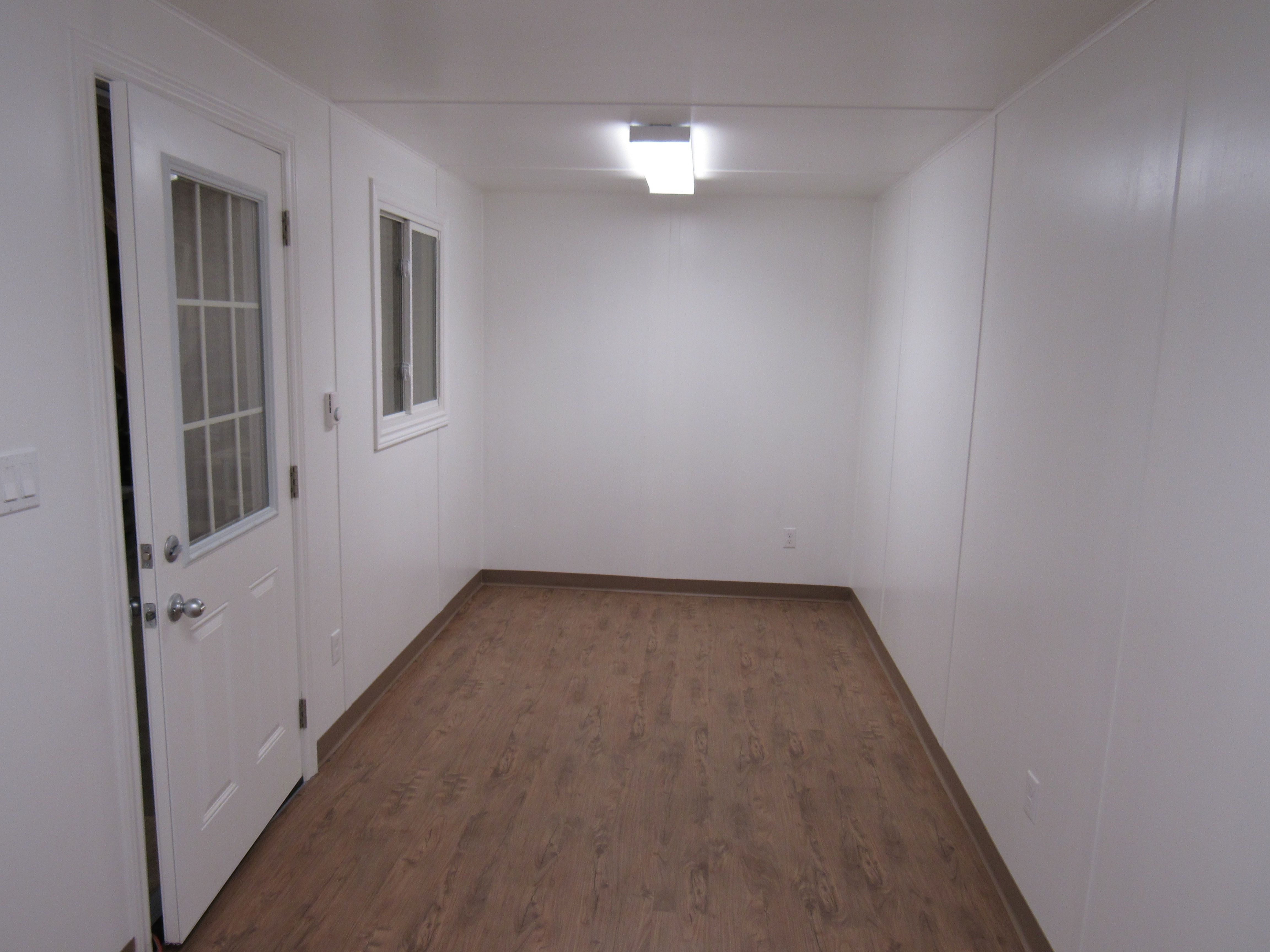 finished inside bunkie house pinterest