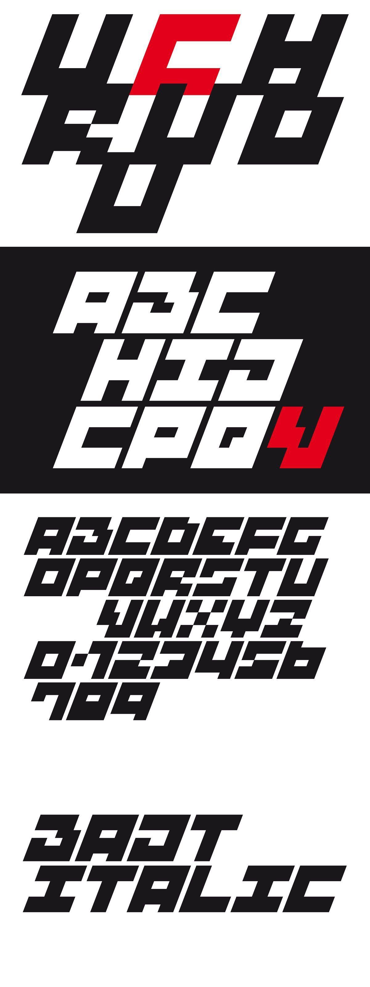BAJT Italic in 2020 Uppercase letters, Italic font, Letters