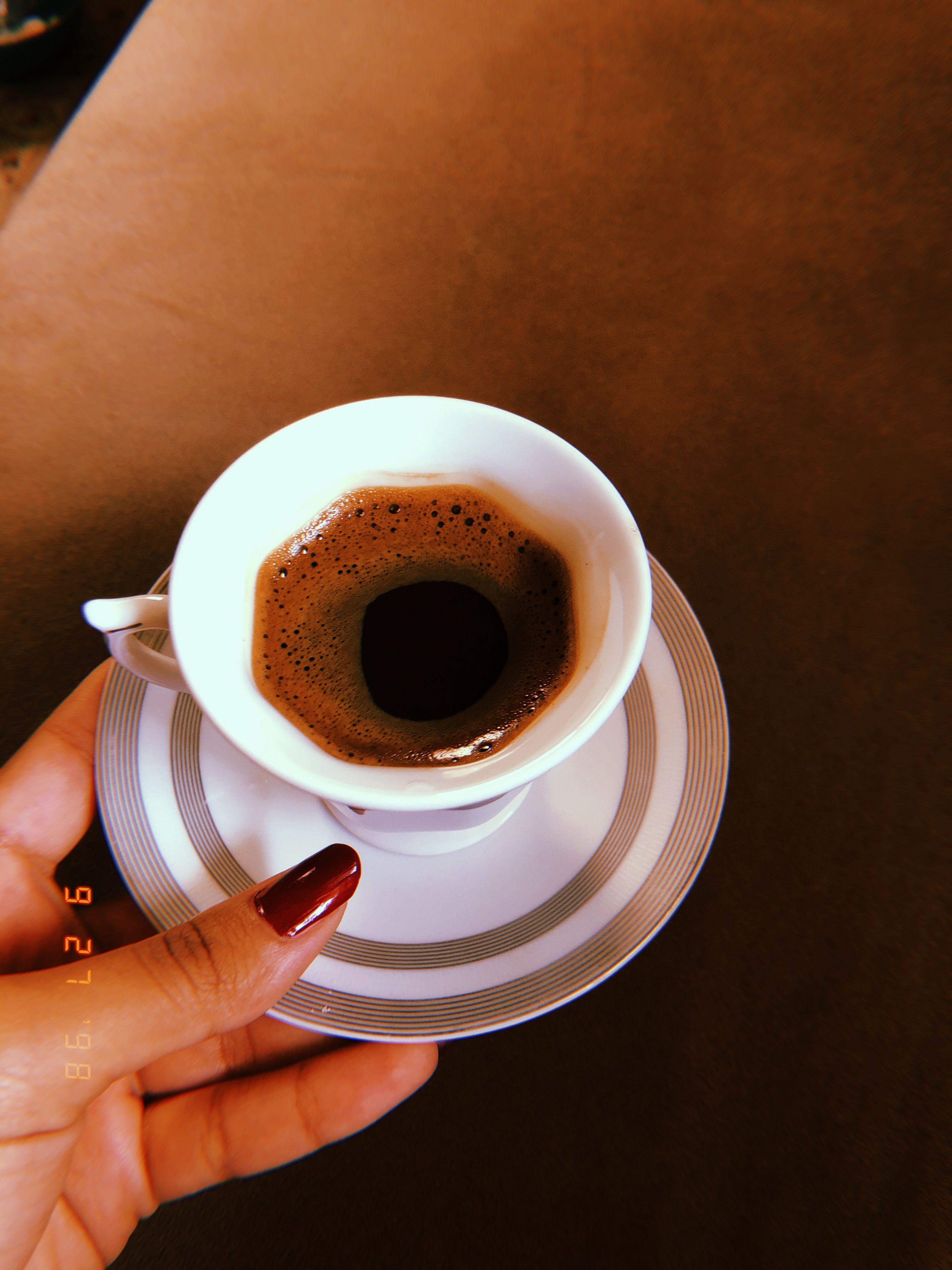أول فنجان قهوة تركية من يدي 27 9 2018 Tableware Glassware