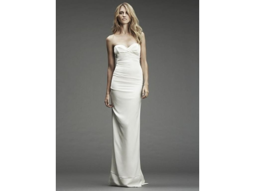 Pre owned wedding dresses  Nicole Miller Camilla buy this dress for a fraction of the salon