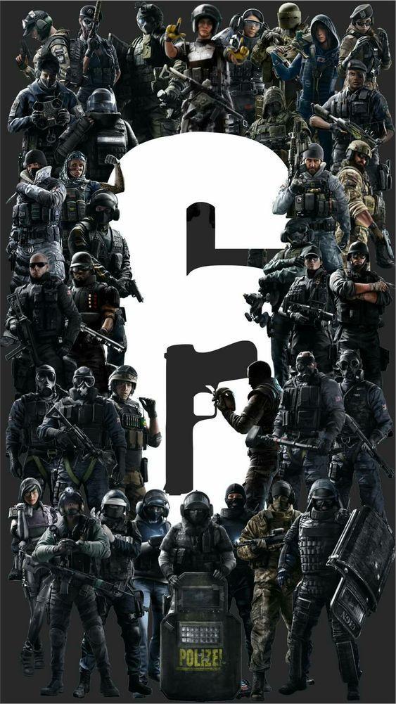 rainbow six siege operatorsso cool art