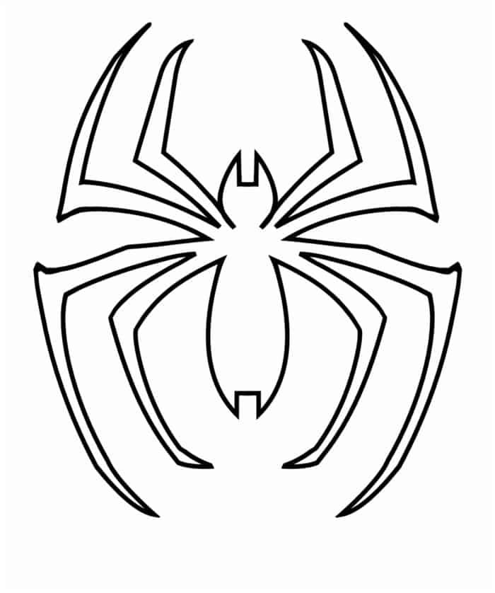Spiderman Logo Coloring Pages Spiderman Pumpkin Stencil Spiderman Pumpkin Superhero Logo Templates