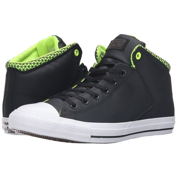 Converse Chuck Taylor All Star High Street Mid (Black/White/Volt).