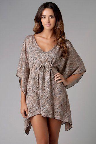 be02689eea Amazon.com: Dotti Woven Tunic: Dotti: Clothing Swimwear Cover Ups, Women's