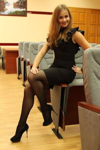 Lady amelia highheels shoes change - 3 part 1