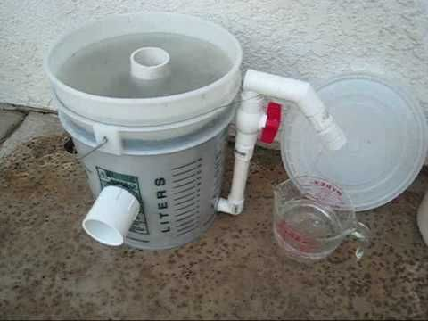 Slow Sand Water Filter Youtube Water Filter Sand Filter