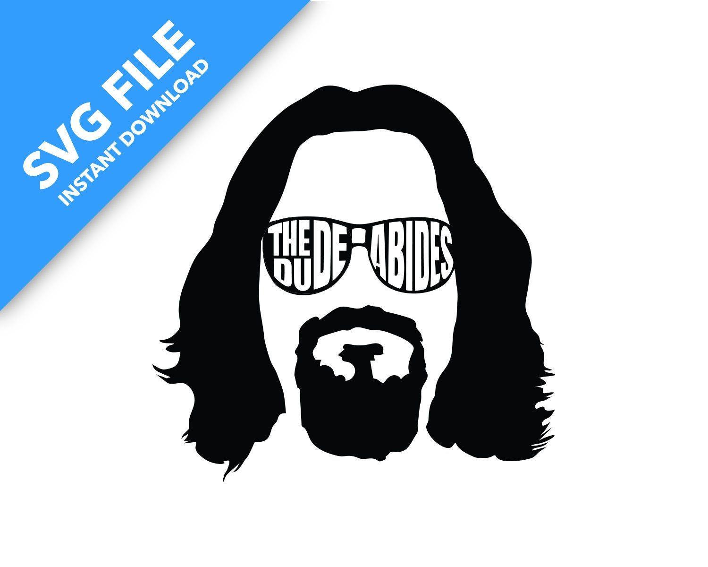 The Dude Abides Svg Digital Download Big Lebowski Poster The Big Lebowski Svg [ 1200 x 1500 Pixel ]