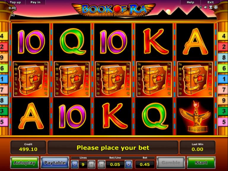 игровой автомат книжки бесплатно играть