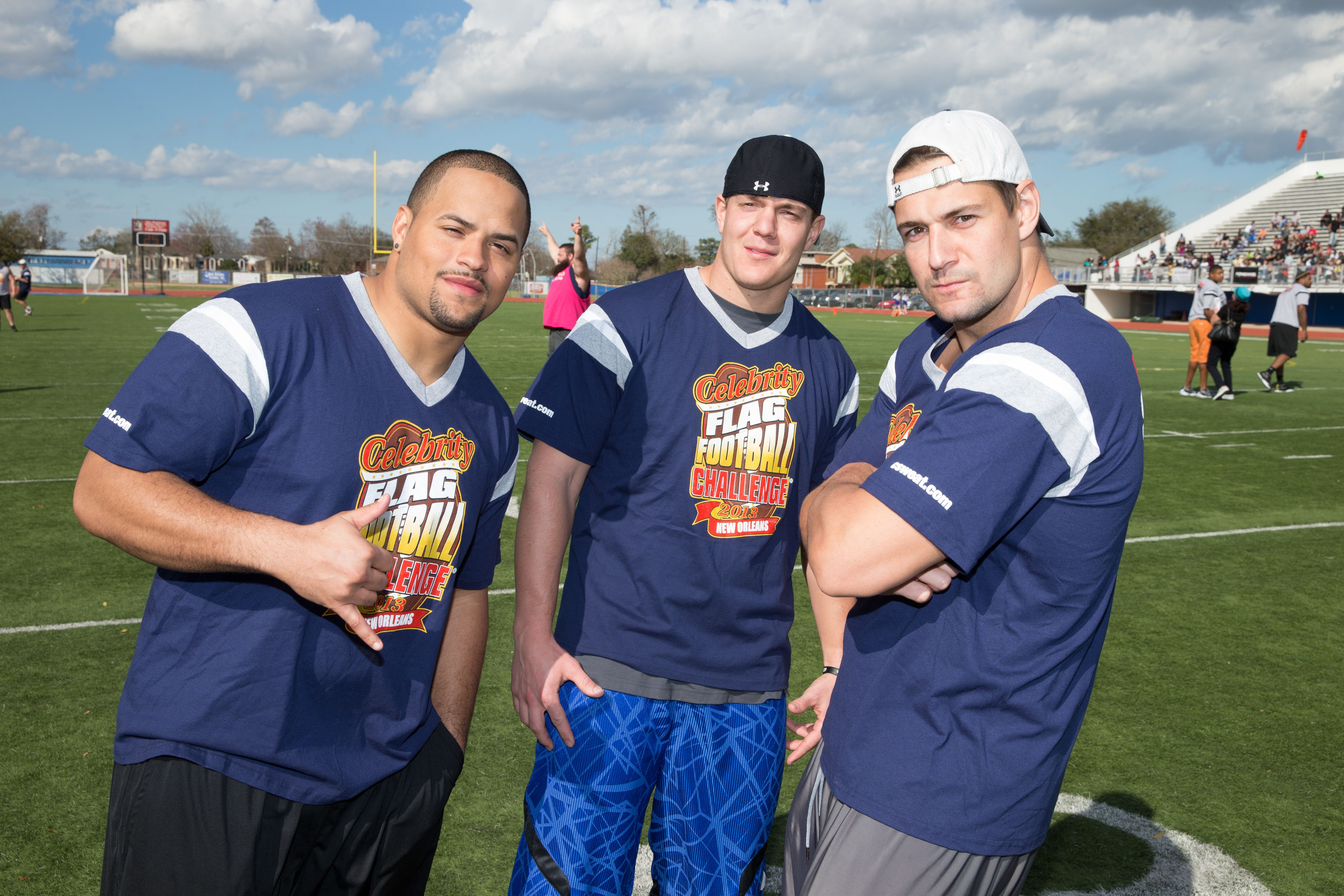 The Gronkowski Brothers Back Again Gronkowski New England Patriots Flag Football