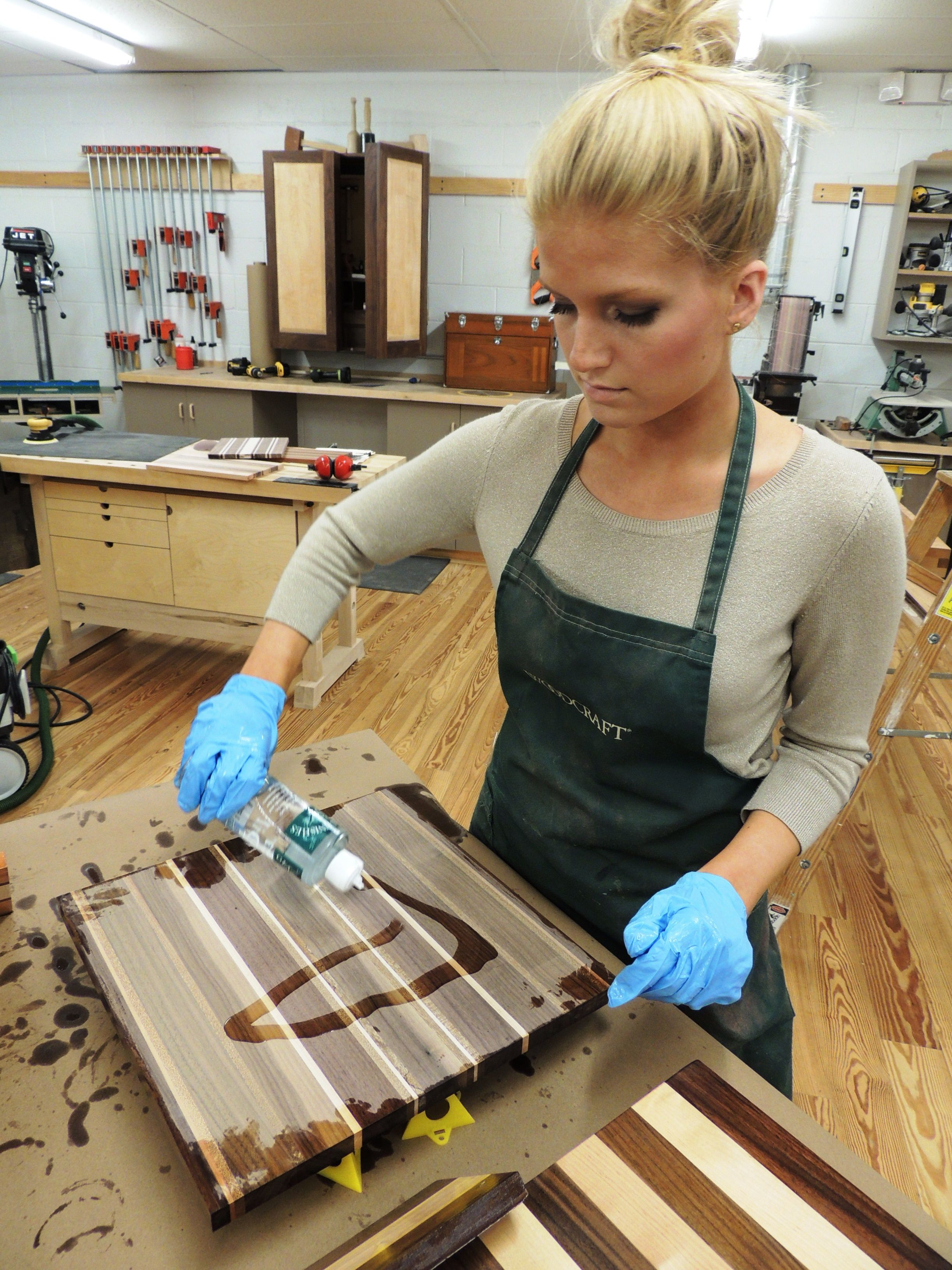 Finish your board with favorite butcher block oil