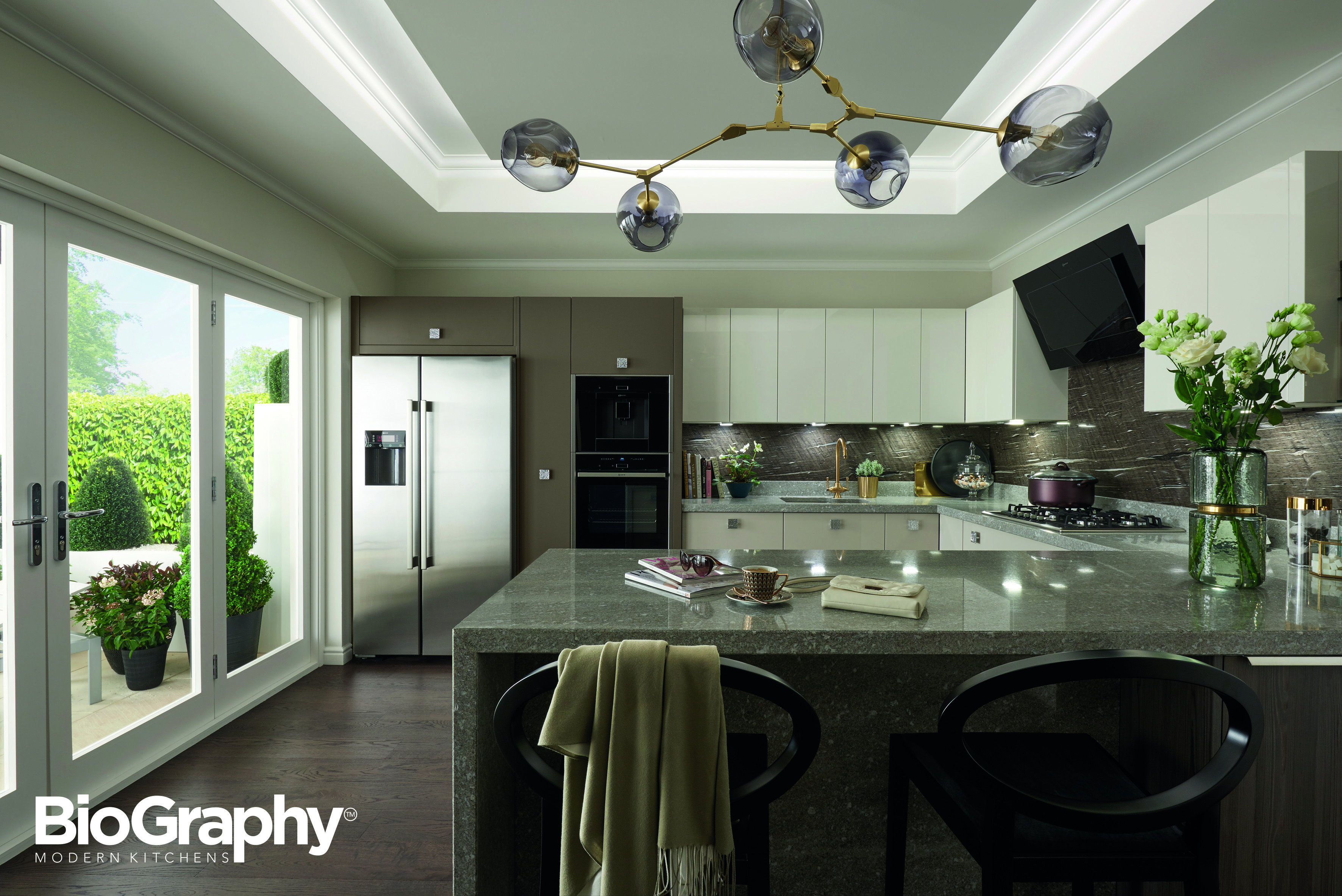 Perfect BioGraphy® Modern Kitchen Design Style 4: Chic, Extravagant, Enriched.  Browse Sheraton Interiors For Kitchen Ideas, Kitchen Design, Traditional  Kitchen ...
