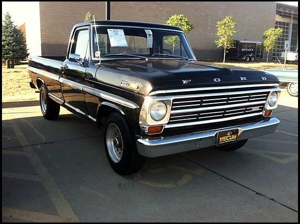 1968 Ford F250 Pickup 390 Ci  4