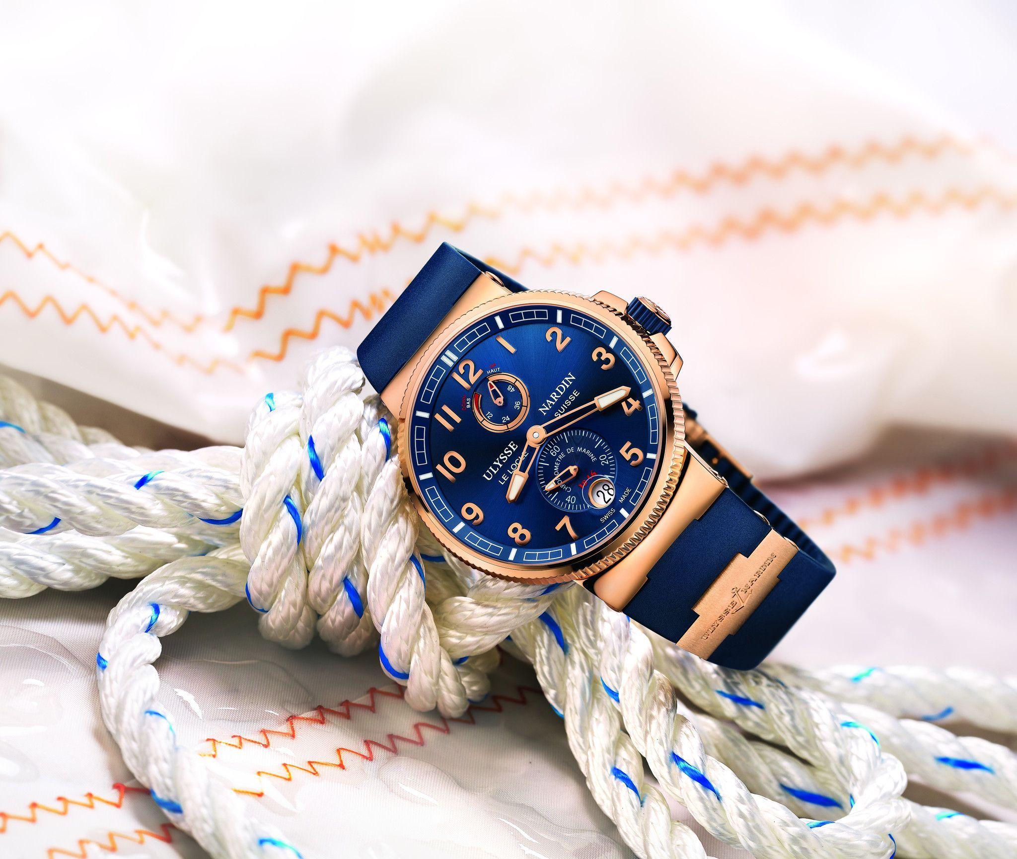 Ulysse Nardin Marine Chronometer Manufacture Ulyssenardin Lux Luxurywatches Reloj Vintage Reloj Estilo Marinero