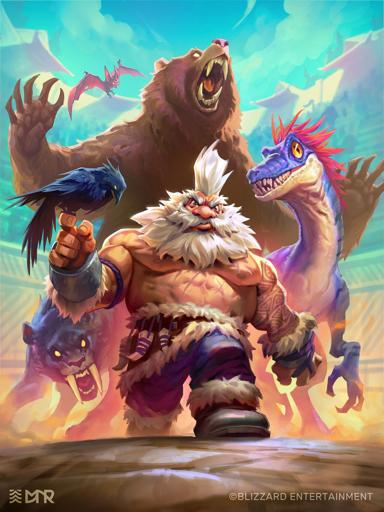 Man Male D D Pathfinder Dnd Shirtless Fantasy Dwarf Hunter