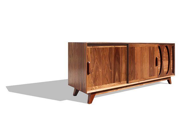 La Credenza Twitter : Hooker furniture living room melange apollo credenza  mtl