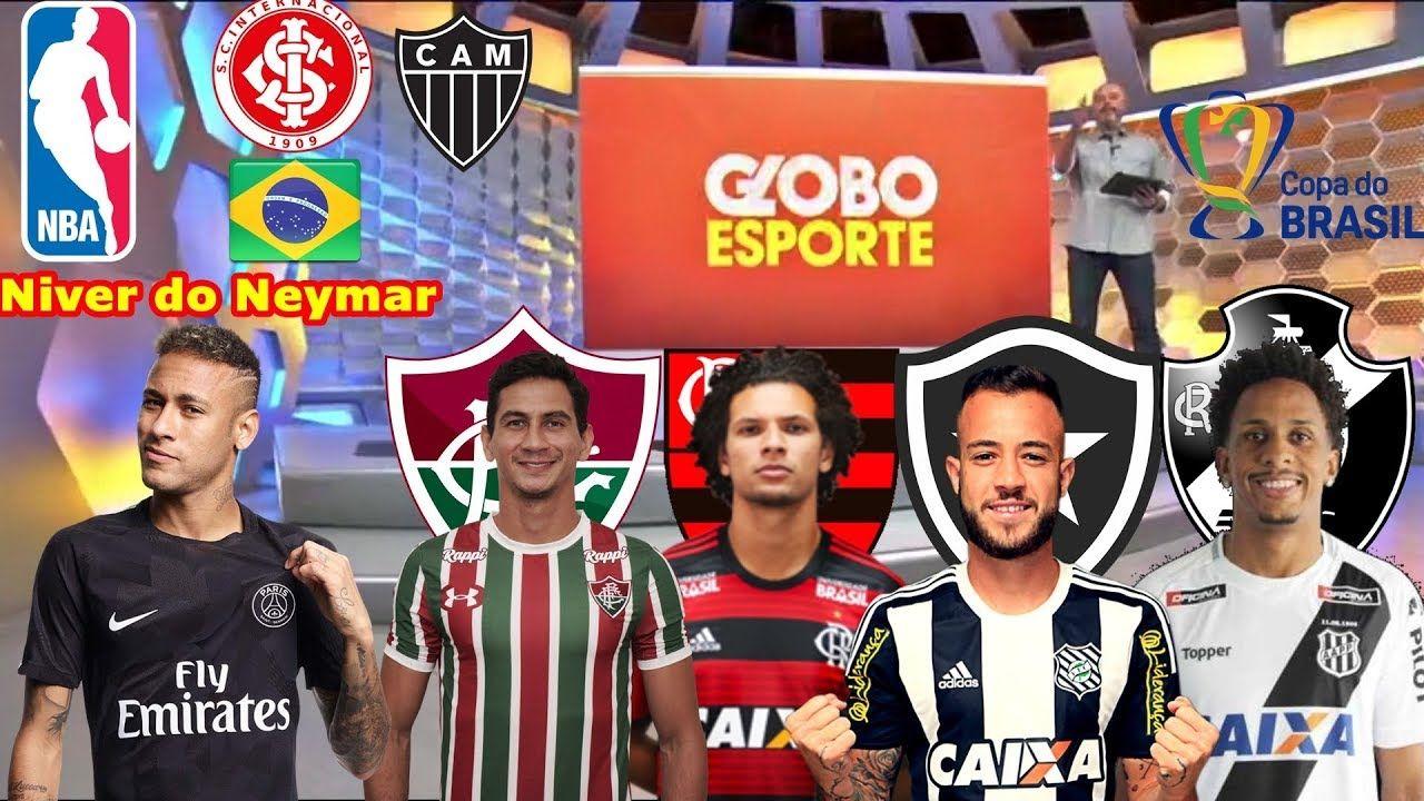 ⚽Globo Esporte RJ 05022019, Vasco, Flamengo, Fluminense