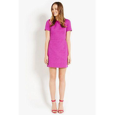 f0349a700342 Buy Oasis Ruby Dress, Pale Pink Online at johnlewis.com | Dresses ...
