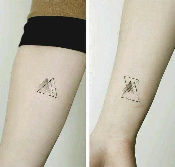 Photo of 50 intensive geometrische Tattoos Designs und Ideen für Männer und Frauen