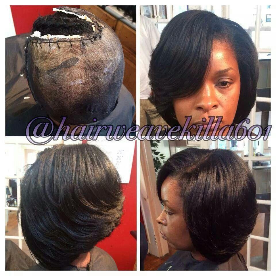 Natural Sew In Bob Short Hair Styles Hair Styles Natural Hair Styles