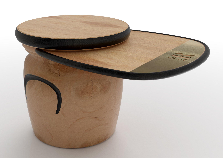 Stoolorientable tray cedar woodstool setdesigninteriorwood