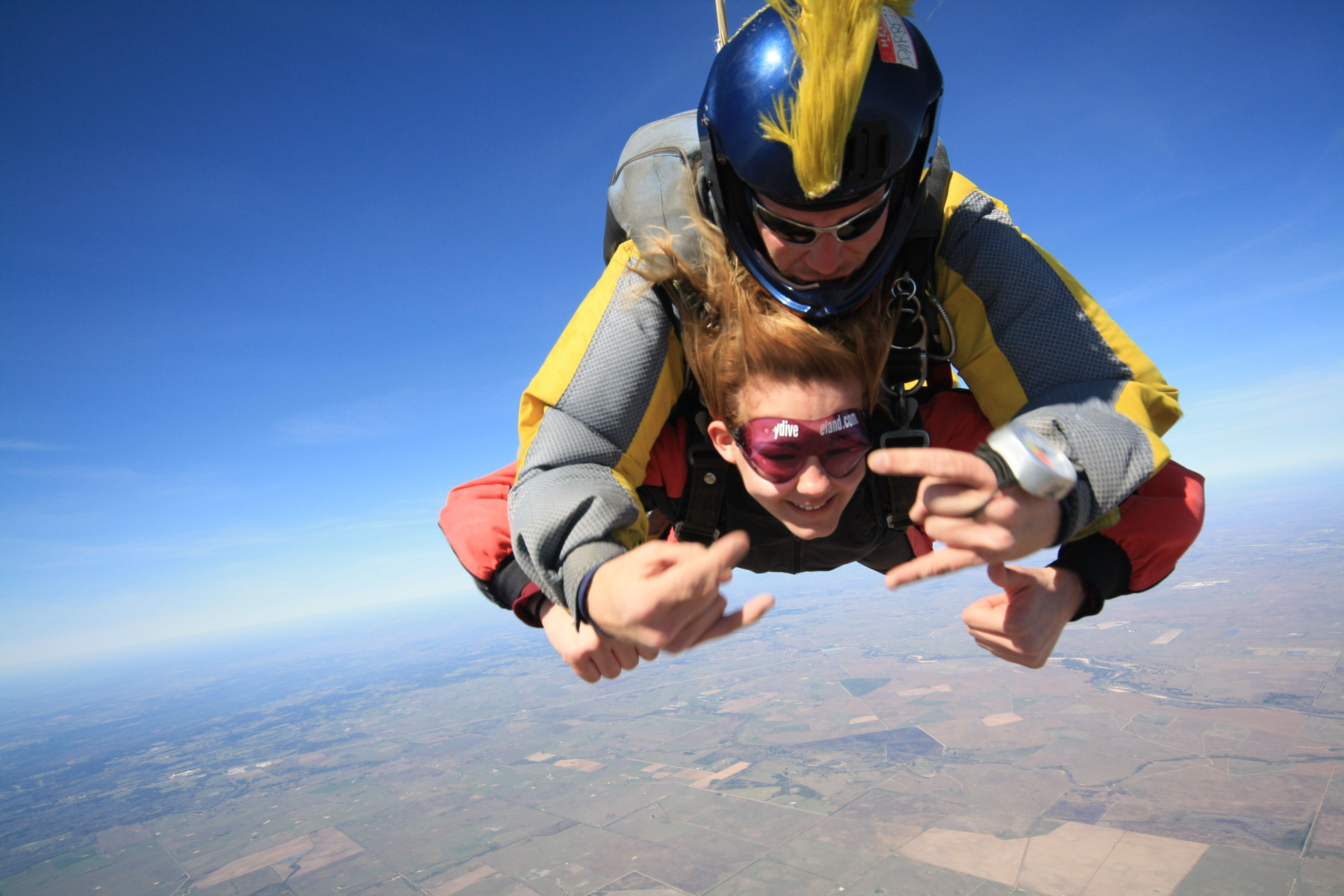 Check  Went skydiving!!!