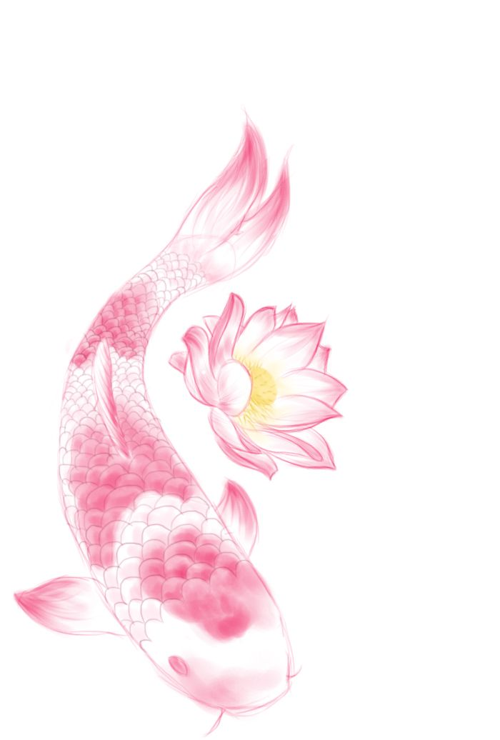 Koi fish and lotus lovely tattoo sample tattoo for Tiny koi fish