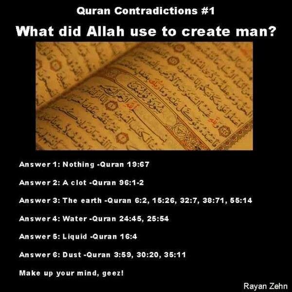 why did god create man islam