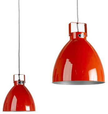 Jielde Pendant Red Modern Pendant Lighting By Horne Industrial Pendant Lights Pendant Light Fixtures Modern Pendant Light