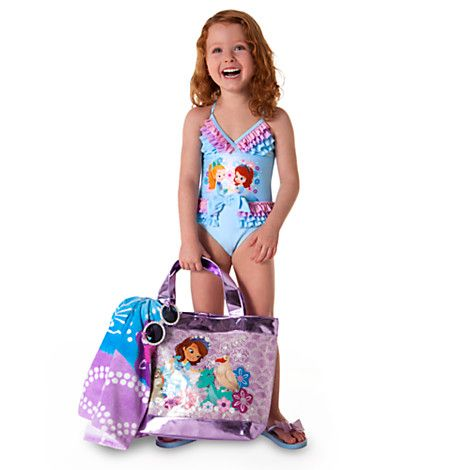 Sofia the First Deluxe Swimsuit for Girls