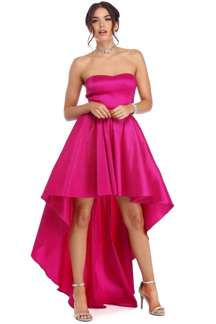 FINAL SALE - Annie Fuchsia Bold Drama Dress