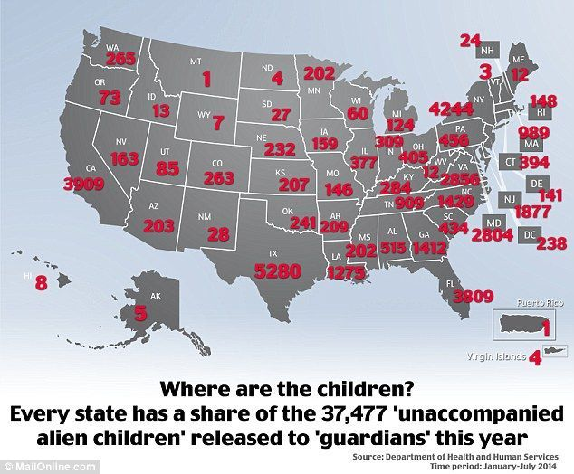 2014 Has Already Seen 88 Increase in Illegal Immigrant Children