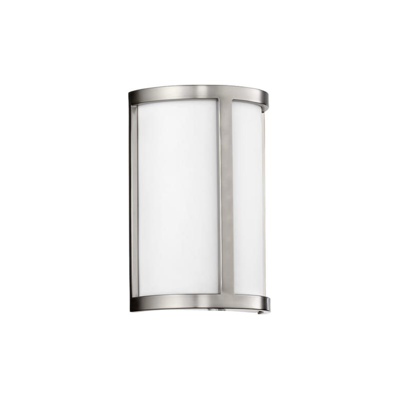Photo of Quorum International 5200 Omega 2 Light Bathroom Vanity Light ADA Compliant Satin Nickel Indoor Lighting Bathroom Fixtures Vanity Light