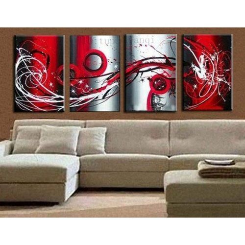 amazon abstract wall canvas art sets painting for home