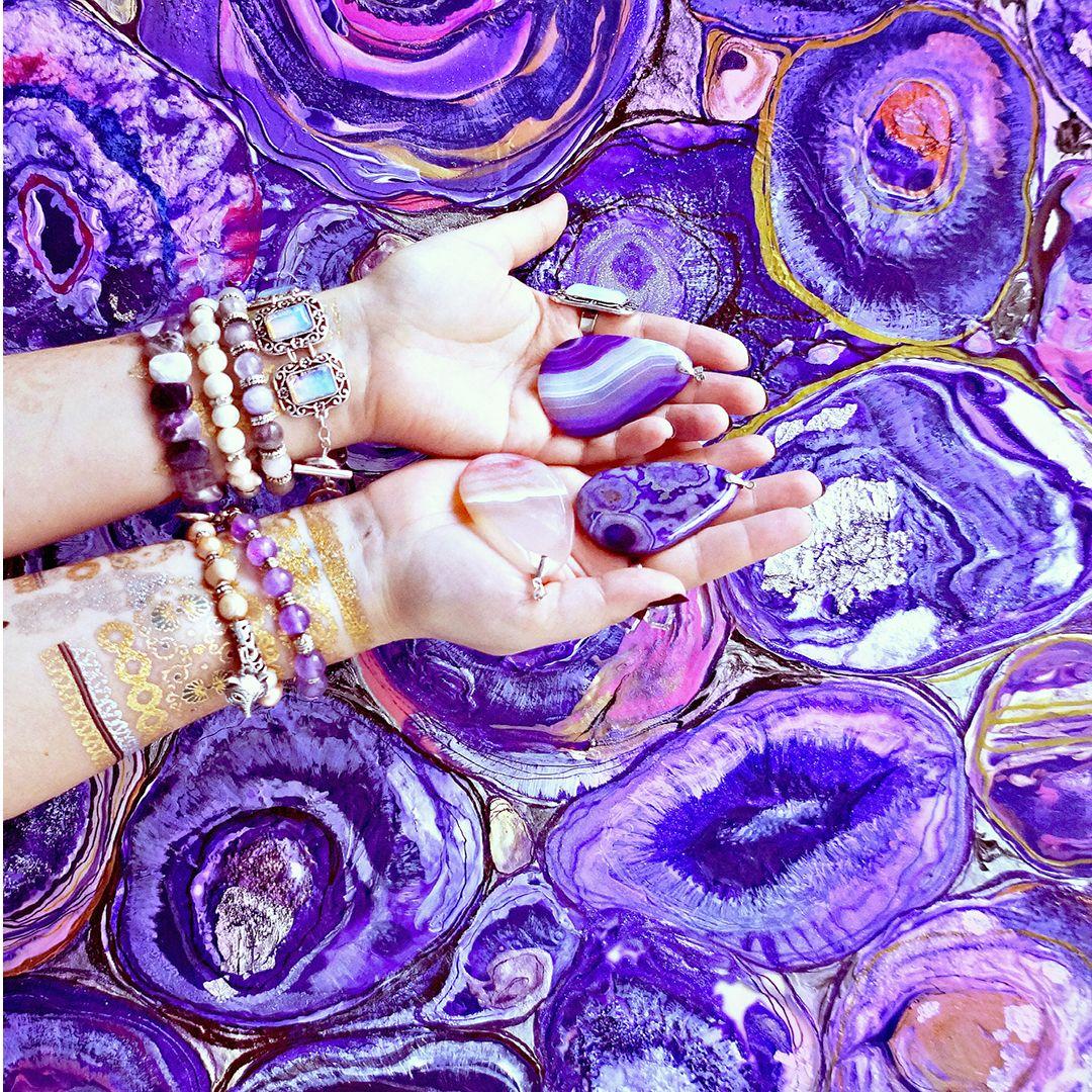 красивые картинки в фиолетовых тонах для инстаграмма каждой них