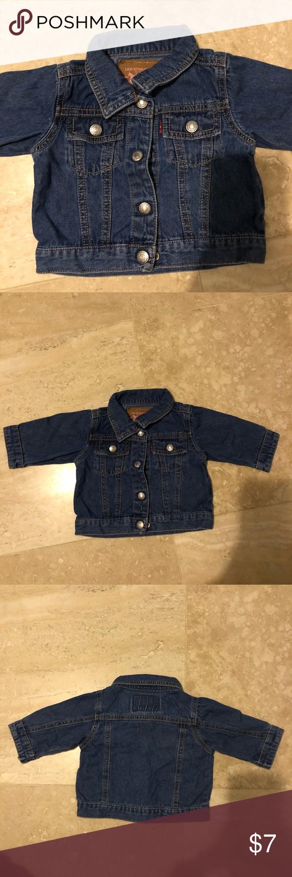 Levi S Baby Denim Jacket Levi S Denim Jacket Snap On Buttons Size 3 6 Months Light Weight Denim Great Quality 100 Co Baby Denim Jacket Denim Jacket Denim [ 1740 x 580 Pixel ]