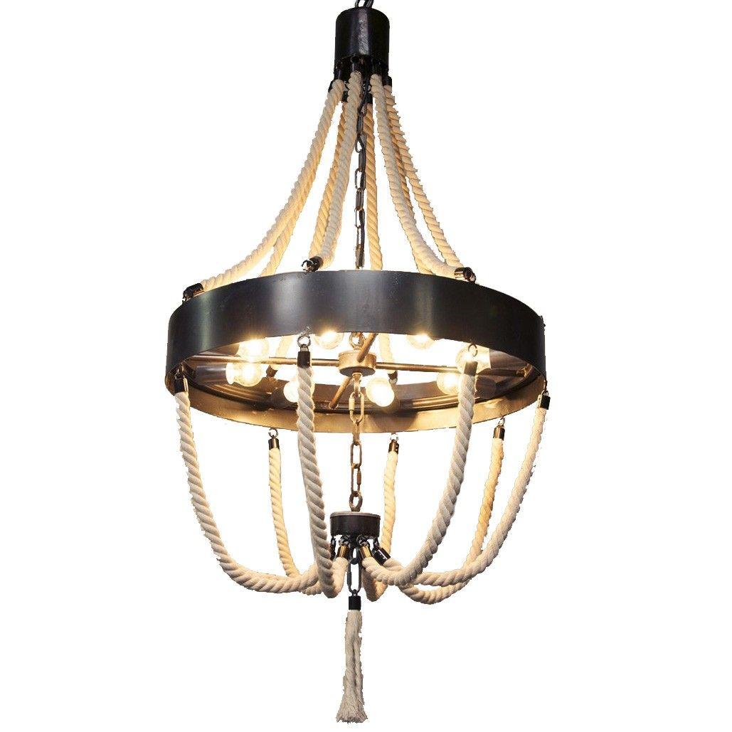 noir alec chandelier - chandeliers - lighting - Tuvalu Coastal Home Furnishings