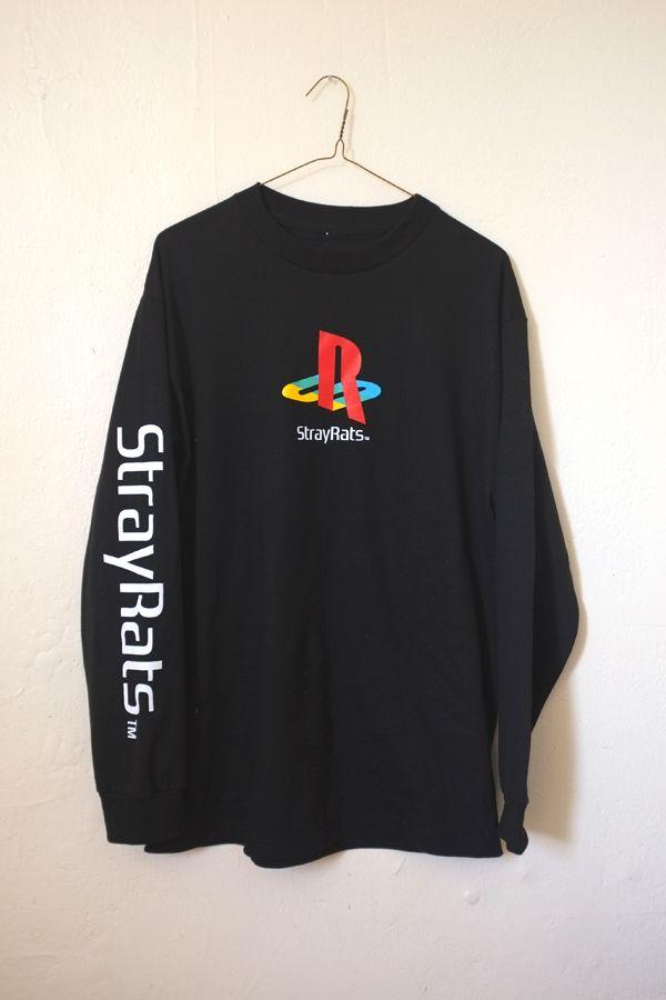 Stray Rats Long Sleeve Playstation Ps Mostly Kicks