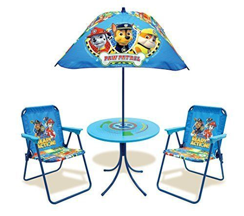 29e4b53bce48 Find many great new & used options and get the best deals for Kids Patio Set  Paw Patrol Party Table Chairs Classic Toy at the best online prices at eBay!