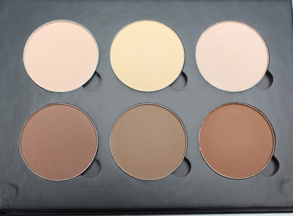 Anastasia Beverly Hills Contour Kit Top L - R: Vanilla, Banana, Sand Bottom L-R: Java, Fawn, Havana