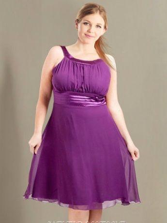 Imagenes de vestidos de fiesta para gorditas jovenes