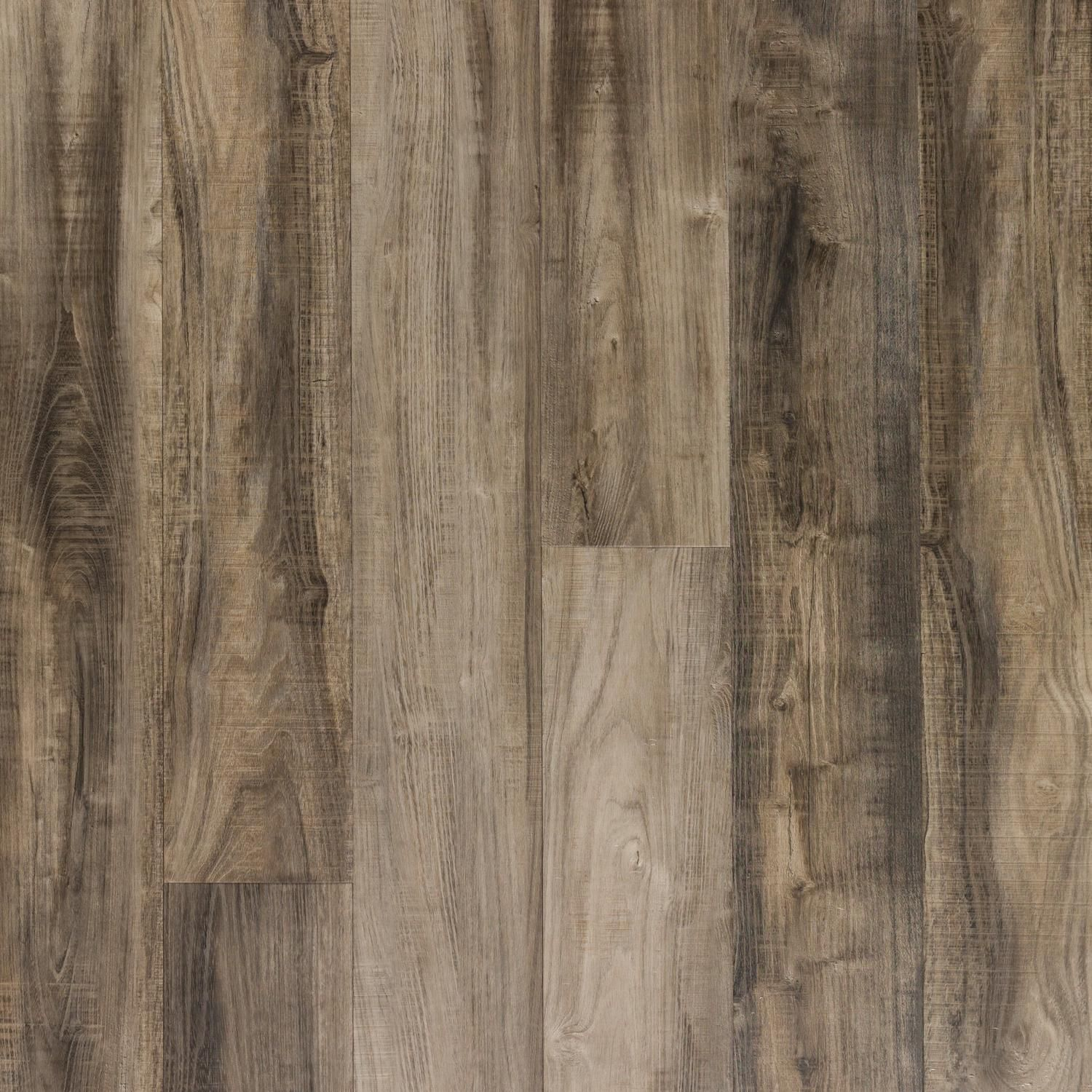 Ombre Gray Hand Scraped Plank With Cork Back 6 5mm 100376789