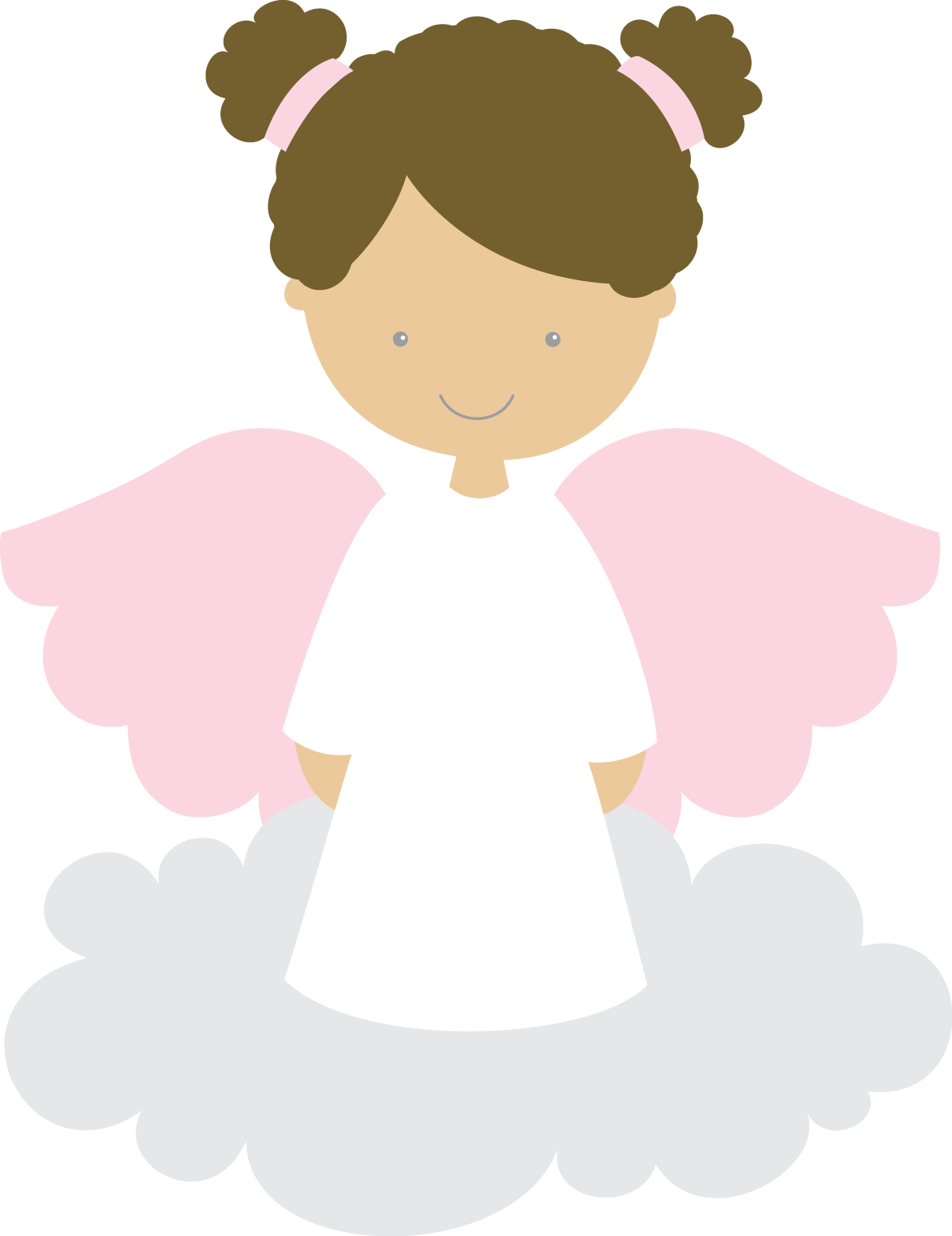 Pin de Idília Melo en anjos | Pinterest | Bautizo, Angelitas y Comunión