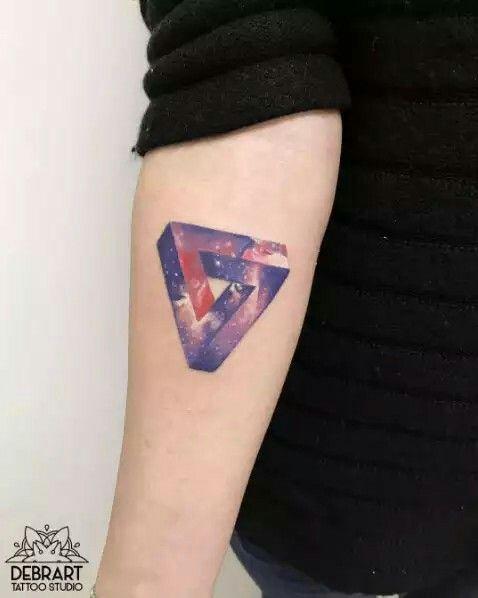 10+ Triangle de penrose tatouage ideas in 2021