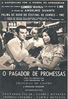 filmes gratis o pagador de promessas