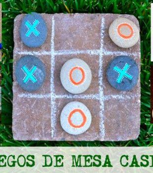 5 Juegos De Mesa Caseros Juegos Creativos Pinterest Juegos