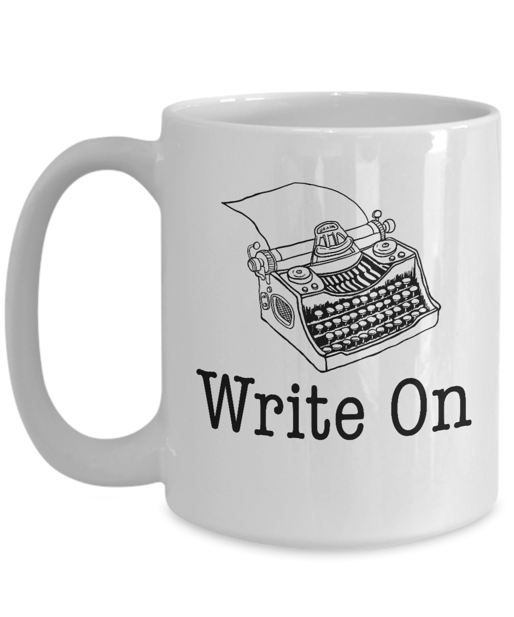 Write On Coffee Mug Funny Sayings Ceramic Tea Cup for