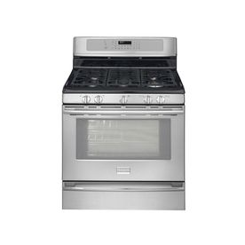 check out the frigidaire gas range in stainless steel