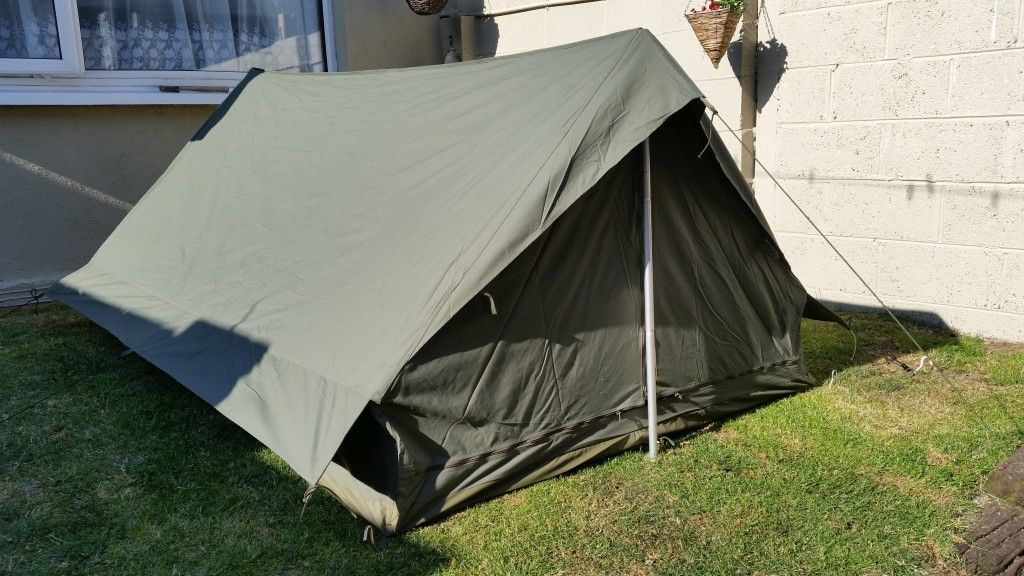 French Army Surplus Two man tent u2013 Olive & French Army Surplus Two man tent u2013 Olive | Outdoor Accessories ...