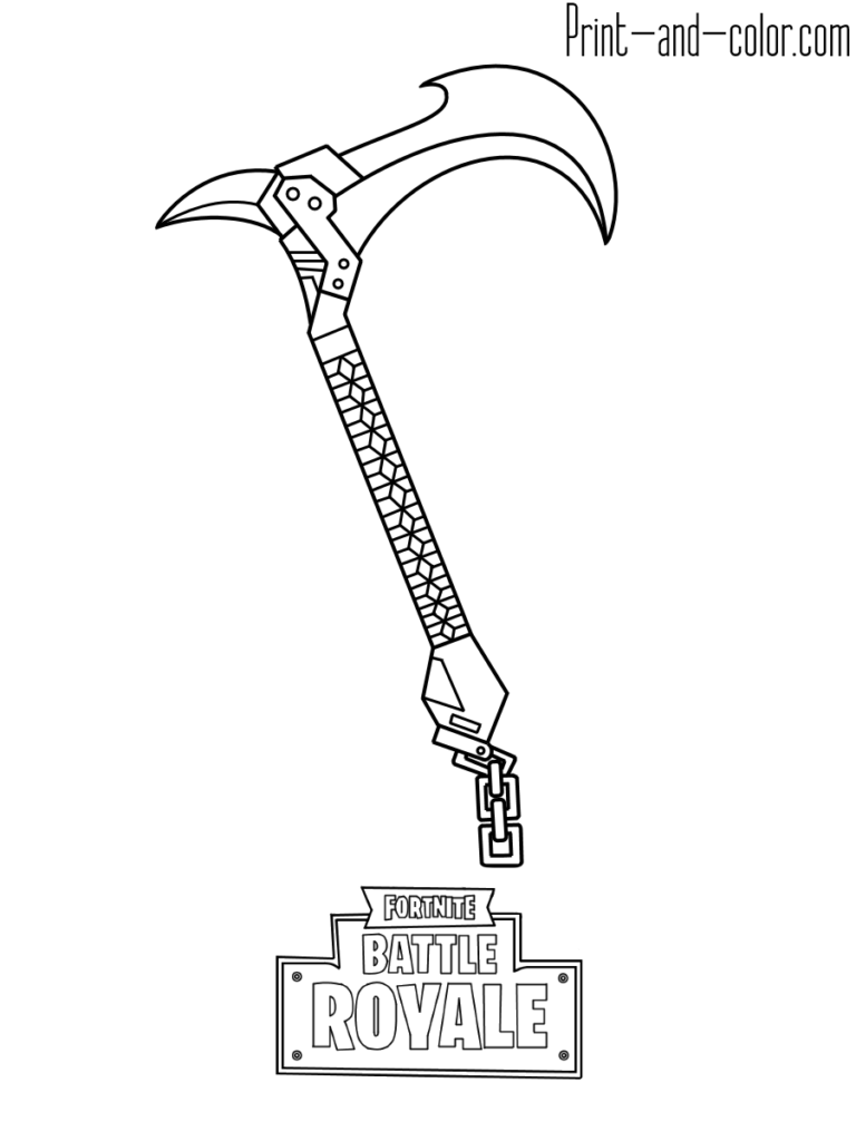 Fortnite coloring pages (With images)   Coloring pages for ...